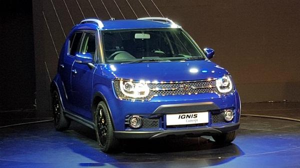 Maruti Suzuki Igni Front View