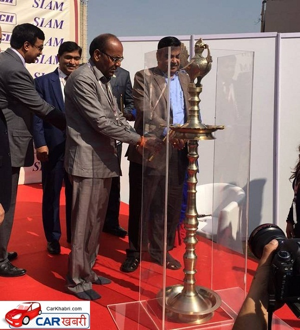 Inaguaral of Indian Auto Expo 2016