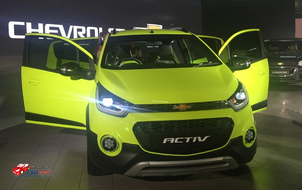 Chevrolet Beat Active Front View Picture