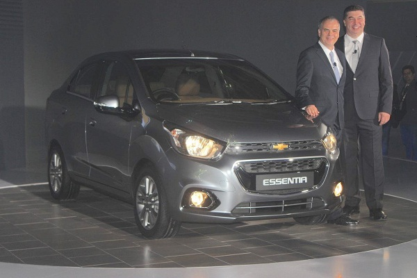 Chevrolet Essentia Front View