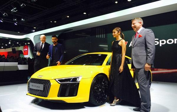 Audi R8 V10 Unveil