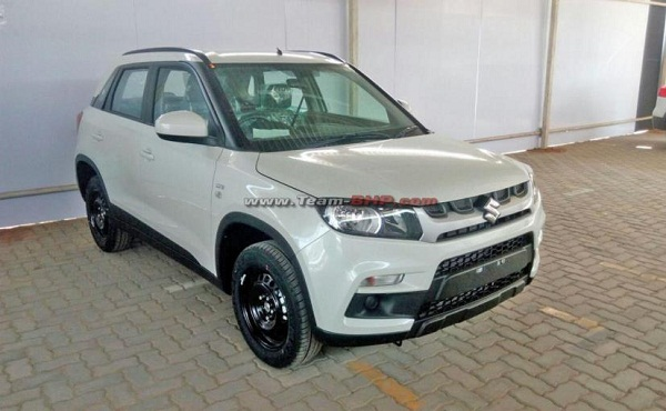 Maruti Suzuki Vitara Spied