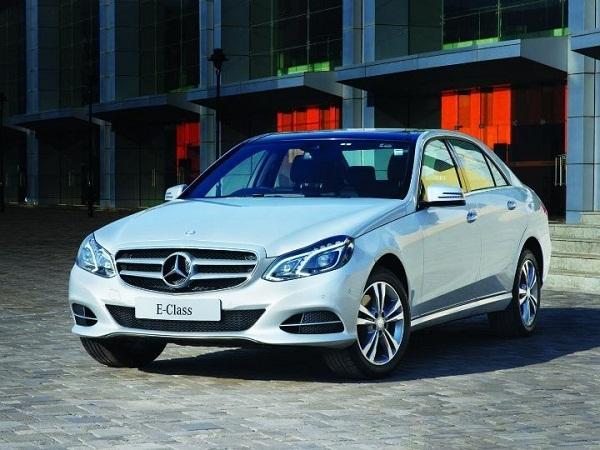 Mercedes Benz E Class Edition E Front View