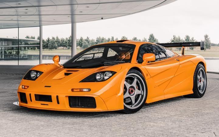 McLaren F1 Front Side View