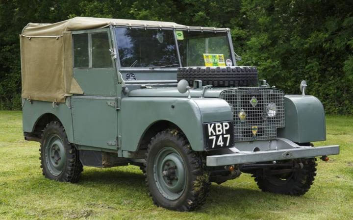 Land Rover Series 1 Front Side View