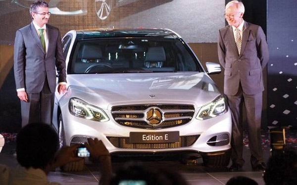 Mercedes Benz E Class Edition E Launch