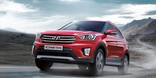 Hyundai Creta Front Side View