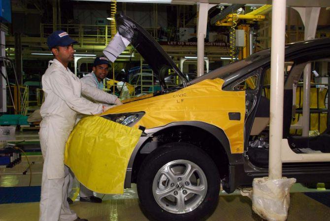 Manufacturing Car