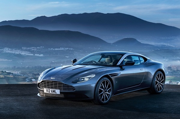 Aston Marti DB11 Front Side View