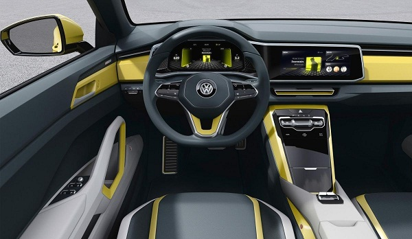 Volkswagen T-Cross Breeze Interiors