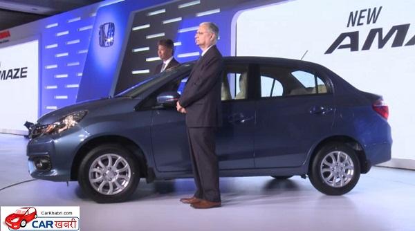Honda Amaze Launch