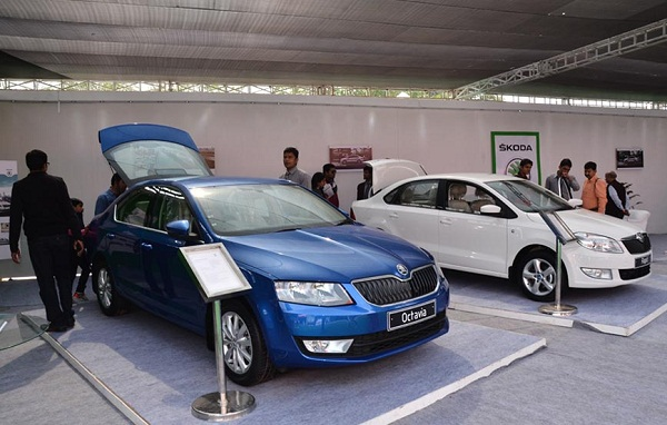 Vehicle Display during Jaipur Auto Expo 2015