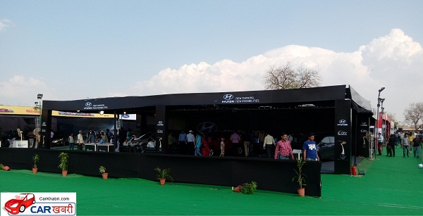 Audiences at Jaipur Auto Expo 2016