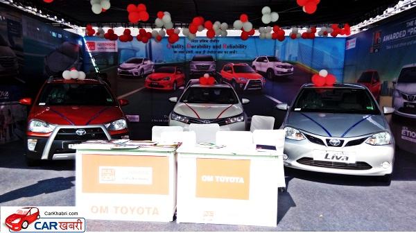 Toyota Motors Stand