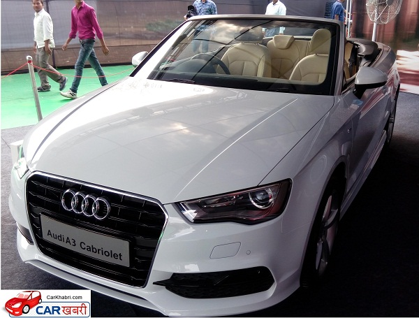 Audi Cabriolet Front View
