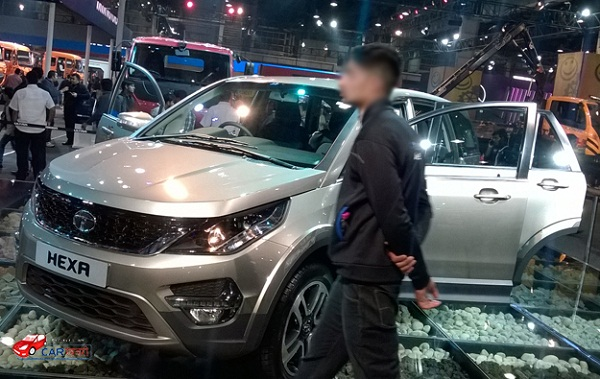 Tata Hexa Front Side View