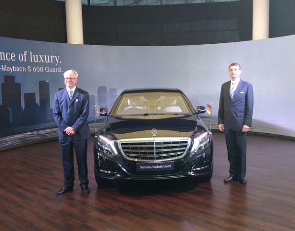Mercedes Benz Maybach S600 Guard Launch