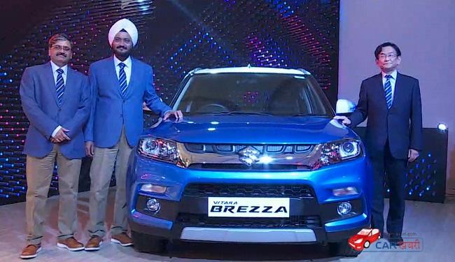 Maruti Suzuki Vitara Brezza Launch