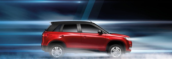 Maruti Suzuki Vitara Side View