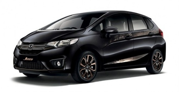 Front Side View of Honda Jazz