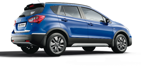 Maruti Suzuki S-Cross Rear Side View