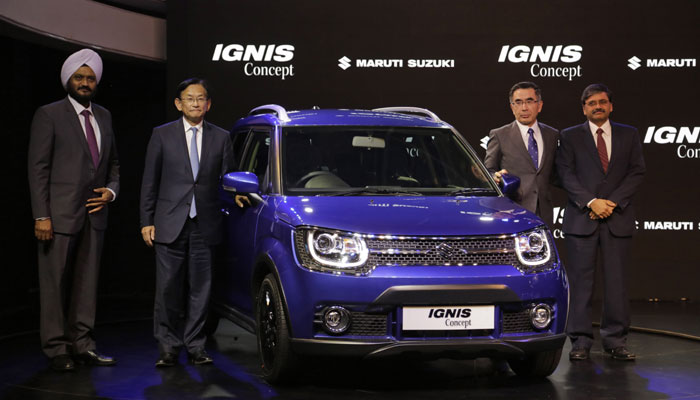 Ignis at 2016  Indian Auto Expo