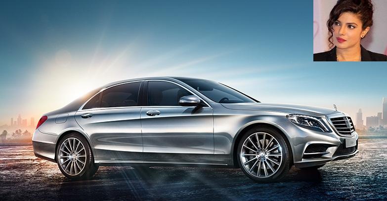 Priyanka's Mercedes-Benz S-Class