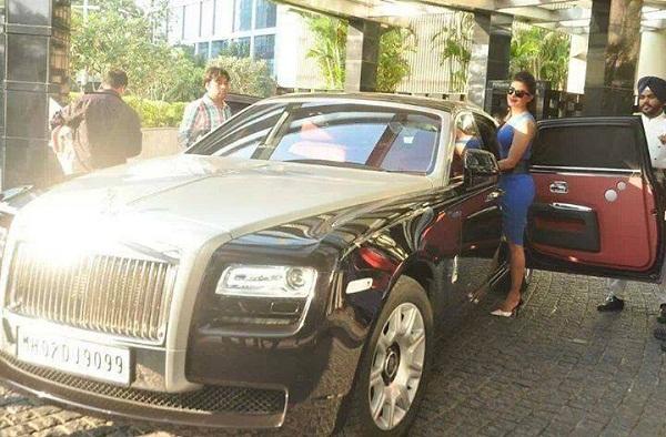 Priyanka's Rolls-Royce Ghost