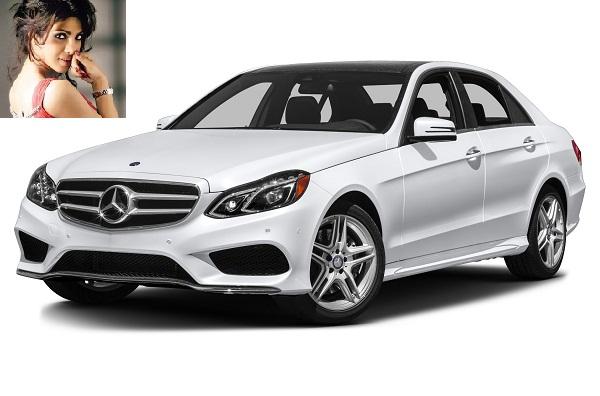Priyanka's Mercedes-Benz E-Class