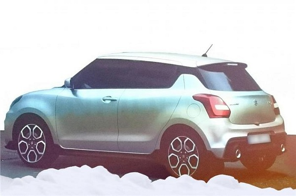Maruti Suzuki Swift 2014 Rear View