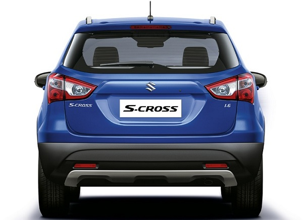 Maruti Suzuki S-Cross Rear View