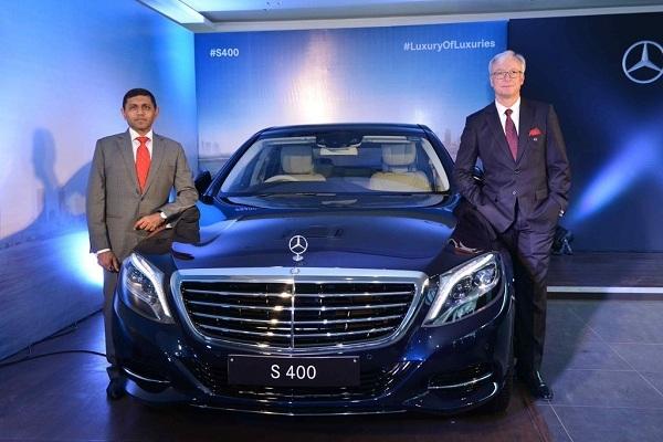 Mercedes Benz S400 Launch