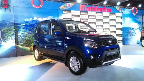 Mahindra NuvoSport Launch