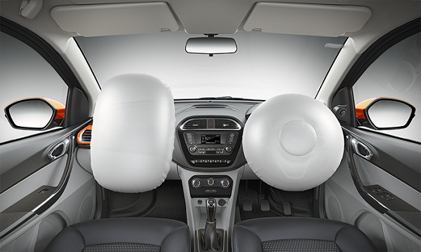Tata Tiago Airbags View
