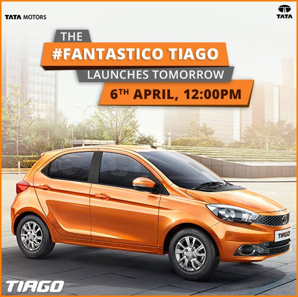 Tata Tiago Front Side View