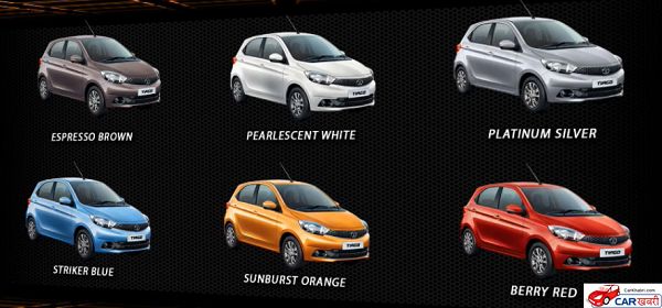 Tata Tiago Colors