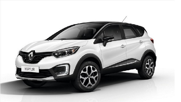 Renault Kaptur Front Side View