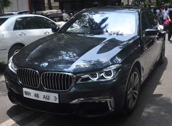 BMW Gfited by Salman Khan to his Sister