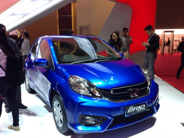 Honda Brio F ront Side View