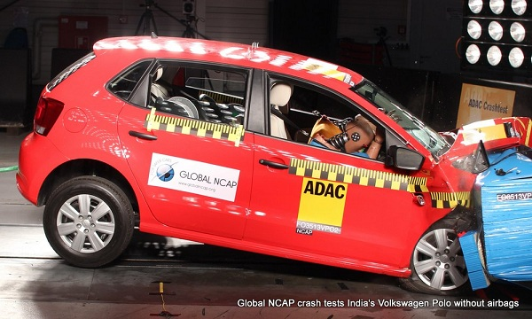 Volkswagen Polo NCAP Crash Test