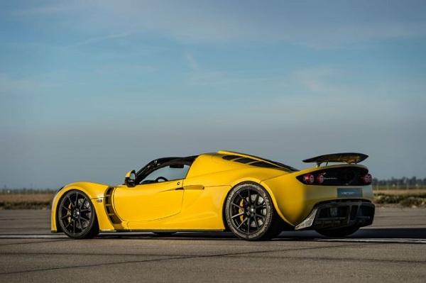Hennessey Venom GT Spyder Rear  View