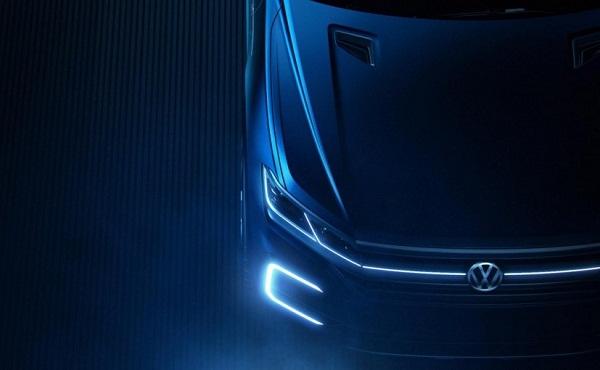 Volkswagen Concept SUV Bonnet