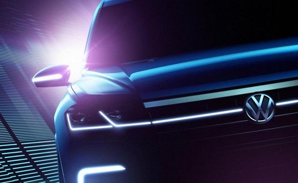 Volkswagen Concept SUV Front