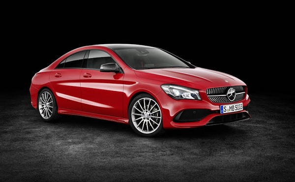 Facelift Mercedes Benz CLA Low Front