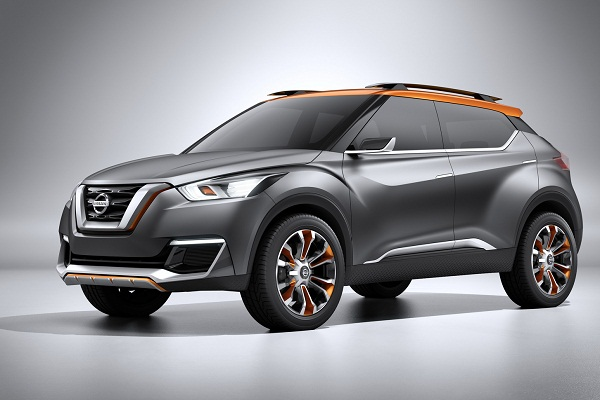 Nissan Kicks Front Side View