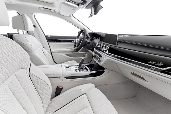 Next 100 Years Edition of BMW Series Interiors