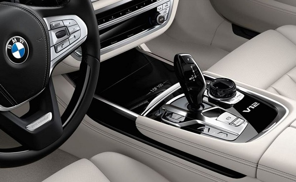 Next 100 Years BMW 7 Series Central Console View