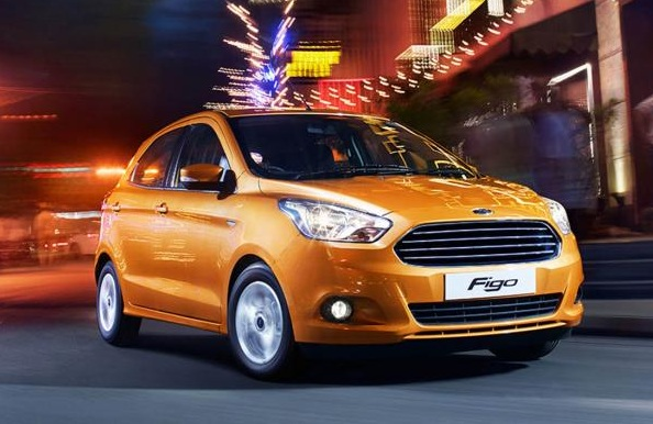 Ford Figo Hathchback Front Low Side View