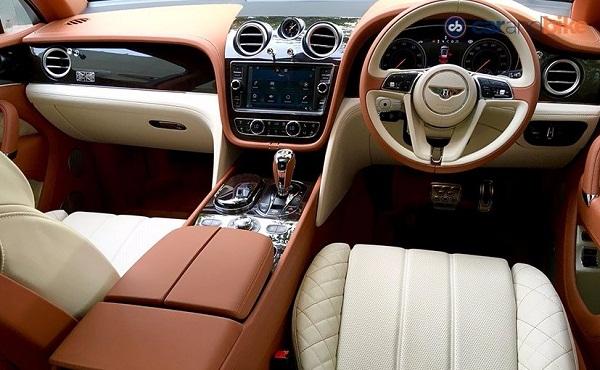 Bentley Bentayga Interior