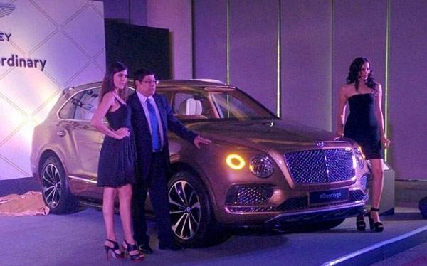 Bentley Bentayga India Launch